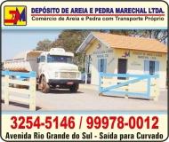 MARECHAL DEPÓSITO DE AREIA E PEDRA MATERIAIS DE CONSTRUÇÃO