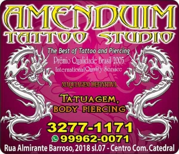 AMENDUIM TATTOO STUDIO TATUAGEM