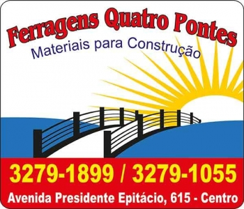 FERRAGENS QUATRO PONTES MATERIAIS DE CONSTRUÇÃO