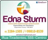 EDNA STURM Dra. Cirurgiã Dentista / Clínica Geral ODONTOLOGIA