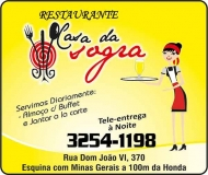 CASA DA SOGRA RESTAURANTE E PIZZARIA