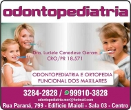 LUCIELE CENEDESE GERAM Dra. Cirurgiã Dentista