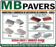 MB PAVERS ARTEFATOS DE CIMENTO
