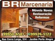 Cartão: BR MARCENARIA RESTAURAÇÃO E REFORMA DE MÓVEIS