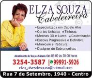 ELZA SOUZA CABELEIREIRA SALÃO DE BELEZA