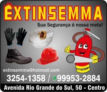 EXTINSEMMA MARECHAL EXTINTORES E EQUIPAMENTOS DE PROTEÇÃO INDIVIDUAL EPI'S