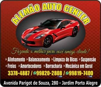 ALEMÃO AUTOCENTER  E BORRACHARIA
