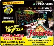 FORNETTO TELE-ENTREGA PIZZARIA  DISK PIZZA