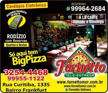 FORNETTO PIZZARIA TELE-ENTREGA / DISK PIZZA