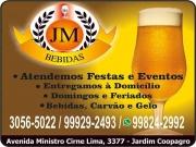 Cartão: JM DISTRIBUIDORA DE BEBIDAS