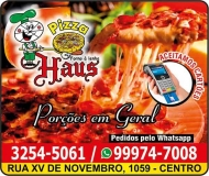 HAUS PIZZARIA DISK PIZZA