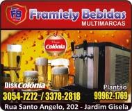 FRAMIELY BEBIDAS DISTRIBUIDORA DE BEBIDAS  DISK CHOPP COLÔNIA