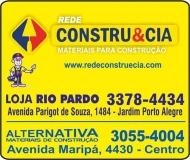 CONSTRU&CIA MATERIAIS DE CONSTRUÇÃO / FERRAGENS RIO PARDO
