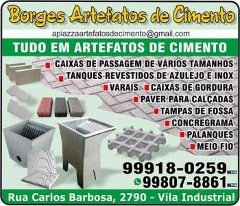 BORGES ARTEFATOS DE CIMENTO