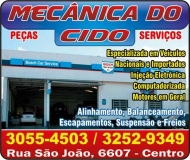 CIDO AUTOMECÂNICA DO CIDO