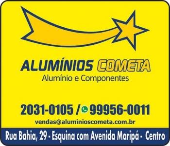 ALUMÍNIOS COMETA ALUMÍNIO E COMPONENTES