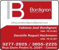 ADVOCACIA FABIANO JOSÉ BORDIGNON / DIREITO EMPRESARIAL E FAMÍLIA / BORDIGNON