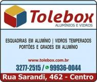 TOLEBOX VIDRAÇARIA E ESQUADRIAS EM ALUMINIO