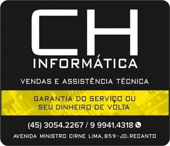 CH INFORMÁTICA VENDAS E ASSISTÊNCIA TÉCNICA