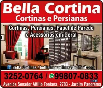 BELLA CORTINA CORTINAS E PERSIANAS