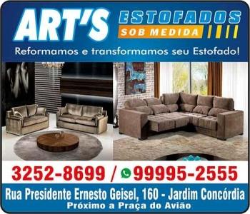 ART'S ESTOFADOS ESTOFARIA