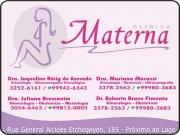 Cartão: CLÍNICA DE GINECOLOGIA MATERNA JULIANA BRESSANIM Dra. Obstetrícia/Mastologia