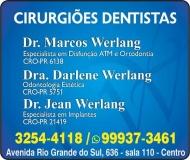 WERLANG ODONTOLOGIA Clínica Odontológica / Cirurgião Dentista