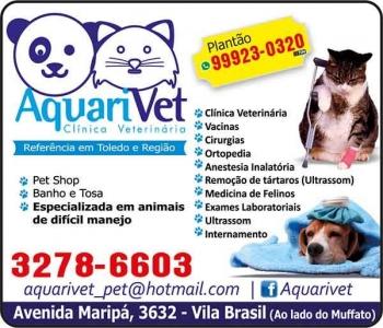 AQUARIVET CLÍNICA VETERINÁRIA E PET SHOP