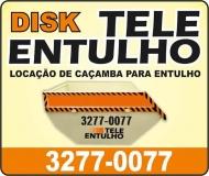 TELE ENTULHO LOCAÇÃO DE MÁQUINAS E CAÇAMBAS