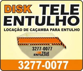 TELE ENTULHO LOCAÇÃO DE CAÇAMBAS