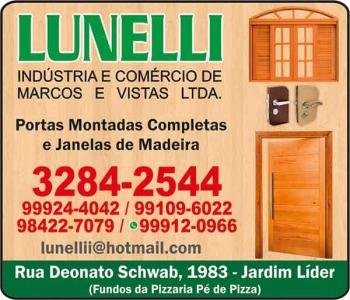 LUNELLI INDÚSTRIA E COMÉRCIO DE MARCOS E VISTAS