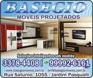 BASEGIO MÓVEIS PROJETADOS PLANEJADOS / SOB MEDIDA