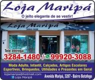 LOJA MARIPÁ CALÇADOS E CONFECÇÕES