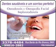 IZABEL C KERKHOFF Dra. Cirurgiã Dentista / Ortodontia ODONTOLOGIA