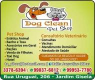 DOG CLEAN PET SHOP