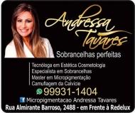 ANDRESSA TAVARES MICROPIGMENTAÇÃO