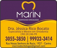 MARIN ODONTOLOGIA ESPECIALIZADA Clínica Odontológica / Cirurgiã Dentista