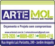 ARTEMOL MÓVEIS PLANEJADOS / SOB MEDIDA