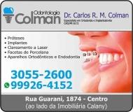 COLMAN ODONTOLOGIA Clínica Odontológica / Cirurgião Dentista