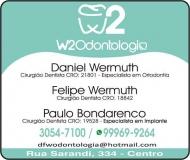 W2 CLÍNICA ODONTOLÓGICA Odontologia / Cirurgião Dentista