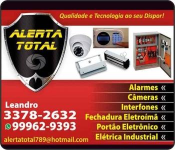 ALERTA TOTAL ELETRICISTA ALARMES E PORTÕES ELETRÔNICOS