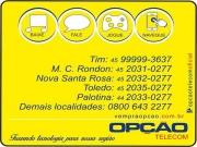 Cartão: OPÇÃO TELECOM