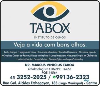 CLÍNICA DE OFTALMOLOGIA TABOX INSTITUTO DE OLHOS