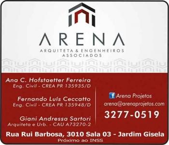 ARENA ARQUITETA & ENGENHEIROS ASSOCIADOS ARQUITETURA E ENGENHARIA CIVIL