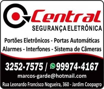 CENTRAL SEGURANÇA ELETRÔNICA