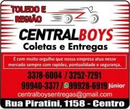 CENTRAL BOYS TELE-ENTREGA