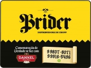 Cartão: BRIDER DISK CHOPP