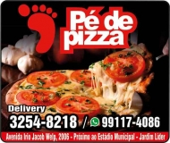 PÉ DE PIZZA PIZZARIA