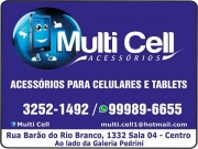 Cartão: MULTI CELL ACESSÓRIOS PARA CELULARES