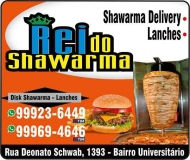 REI DO SHAWARMA DISK LANCHES